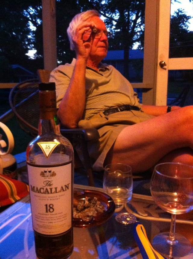 Dad and Scotch