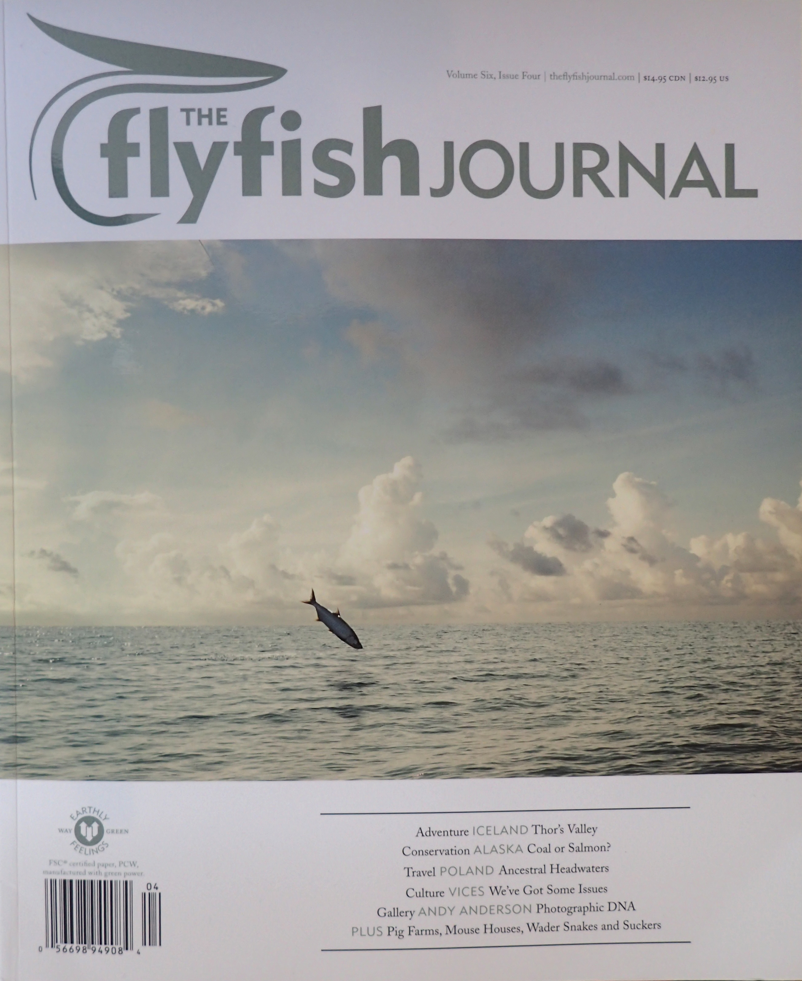 Fly fishing writer currentseams for Fly fishing journal