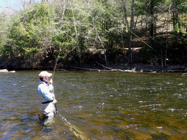 Currentseams steve culton 39 s fly fishing and fly tying for Farmington river fishing report